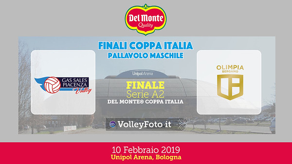 Finale A2: Bergamo-Piacenza