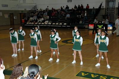 Dundalk High JV Cheerleaders