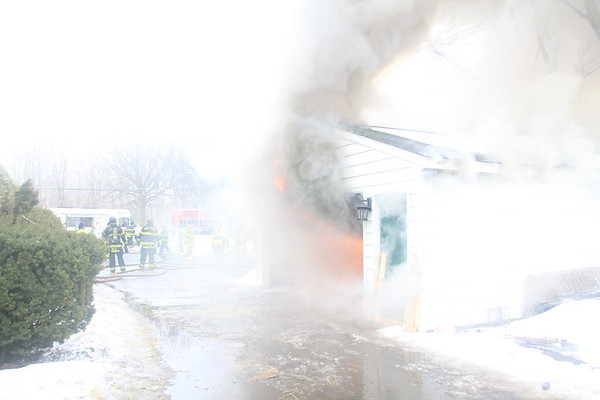 Wood Dale Fire Department Live Fire Training On Addison Road