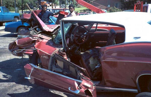 Jack II Car Wreck 1985