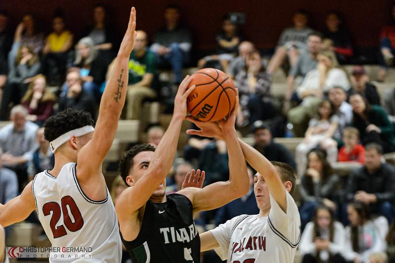 THS Boys Varsity Basketball vs Tualatin -Away