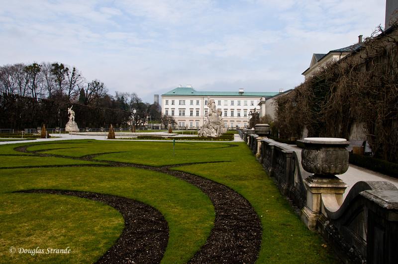Starting our walk in Salzburg