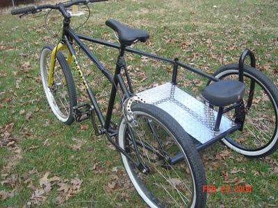 Rear wheel Bicycle Trikes
