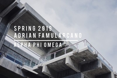 Spring 2019 - Adrian Famularcano