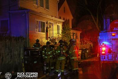 House Fire - 12 Oscar St, Stamford, CT - 11/11/18
