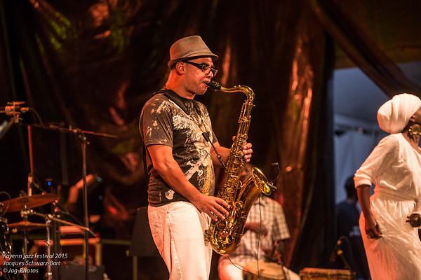 Kayenn Jazz Festival Jacques Schwarz-Bart