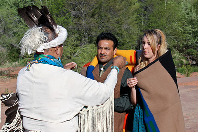 Melanie and David's Native Ceremony