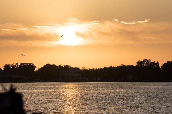 Sky- sunrise/sunset, weather, clouds