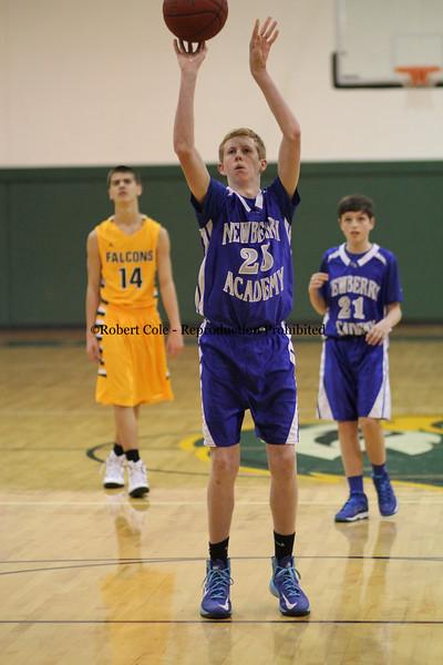 2014-15 Newberry Academy Varsity Boys Basketball