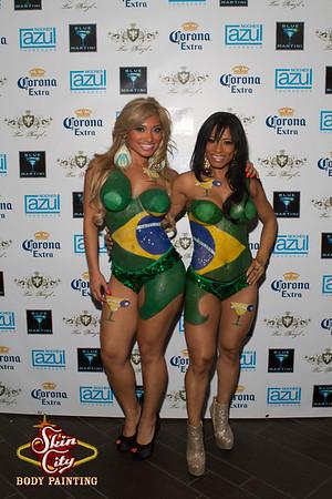Blue Martini Brazilian Night