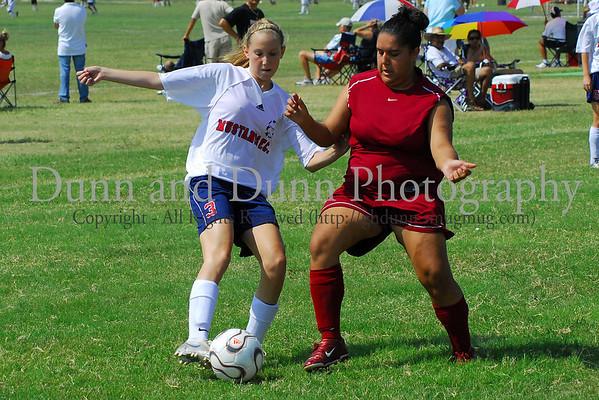 91 Girls - Game 1 - September 10, 2006