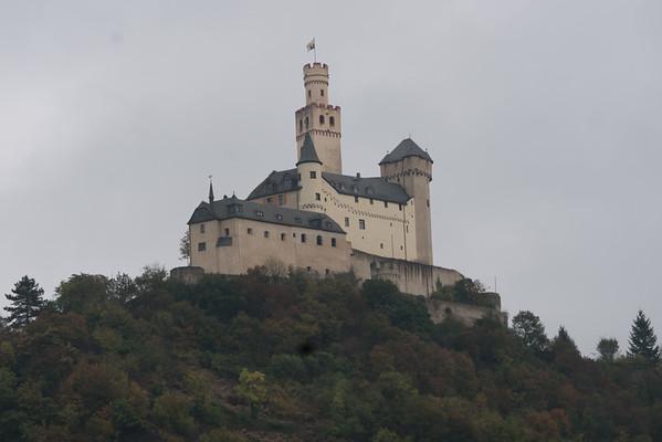 Day 4:  Koblenz wiith Marksburg Castle