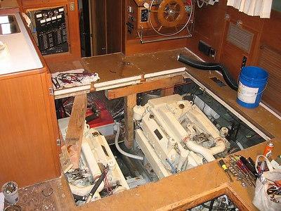 Galmukoff Marine Re-Power, Systems & Electrical Work