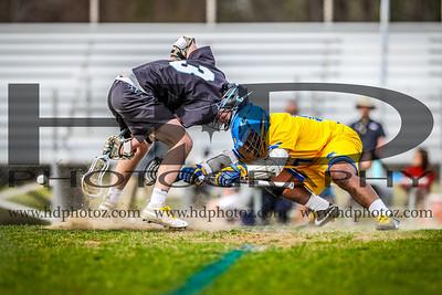 Calvert vs Huntingtown, Varsity Gold Rush Game 4-10-19