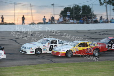 Mid American Stock Car Series Heat Races & Last Chance