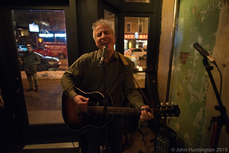David Terhune at Krupa Grocery, February 24, 2015