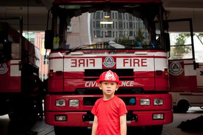 Central Fire Station Visit 20120712