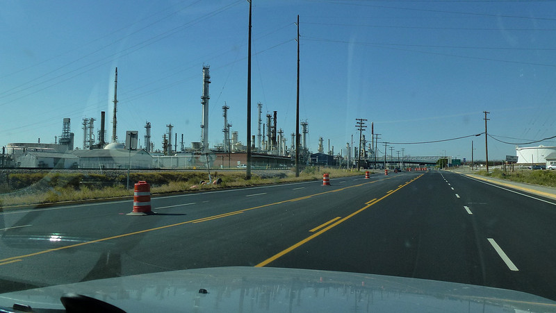Oil refinery coming into Laurel