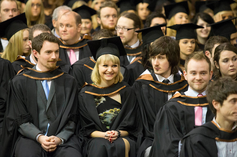Pictured are those who graduated in Bachelor of Arts in Design. Picture: Patrick Browne