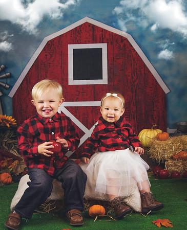 Zoin and Mckinnleigh Harvest Mini 2019