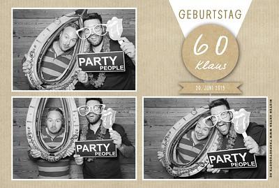 Klaus 60. Party Eulenschmiede