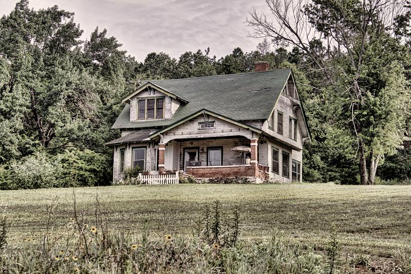 James Franklin Camp House - Aplin, AR ca. 1917 (Sears and Roebuck kit house)