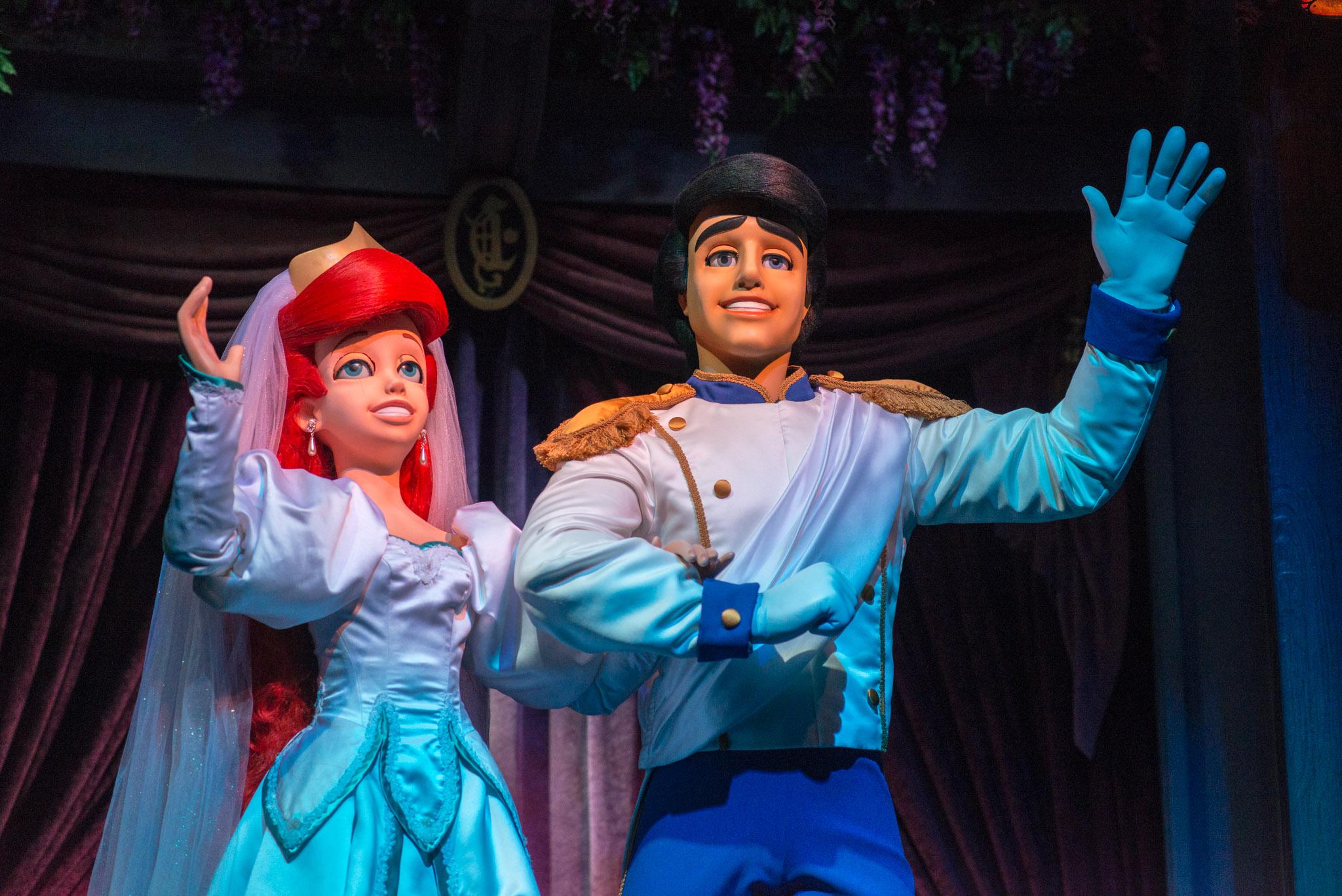 Ariel & Prince Eric - Walt Disney World Magic Kingdom