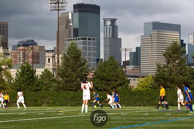 9-4-14 Minneapolis Roosevelt v Minneapolis Edison Girls Soccer