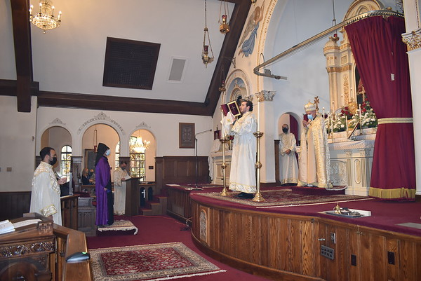 Primate's Visit and Blessing of Liturgical Items