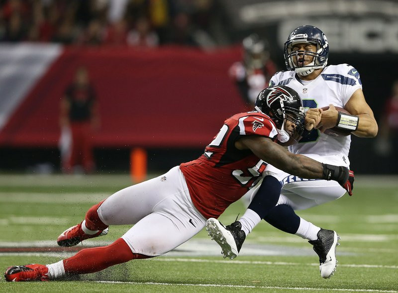 . <p><b> Seahawks at Falcons (+6½):</b> <p>The NFC West-leading Seahawks head back to the Georgia Dome, where they lost a heartbreaking playoff game 10 months ago. They should have a bit more success this week since they�ll be the only team on the field actively trying to win. <p>Pick: <b>Seahawks by 11</b> <p>     (Streeter Lecka/Getty Images)