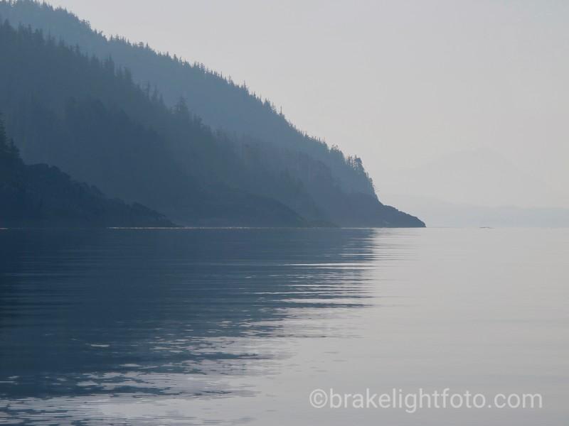 Milbanke Sound along Jorkins Point