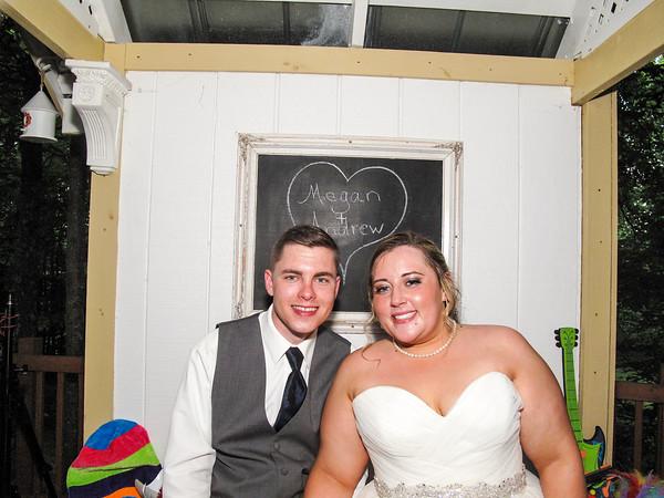 Megan & Andrew Wedding Photo Booth Hidden Video