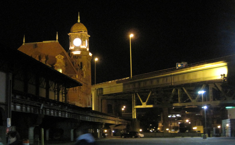 October 11, 2012 - (Richmond Train Station / Richmond, Virginia) -- Richmond Train Station at night on Ghost Walk