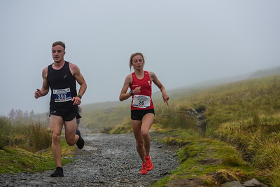 Snowdon Race - Uphill at 1.2 Miles