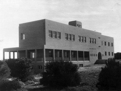 "Institute of Physical Culture (in ""Reali"" School), Haifa - 1936"