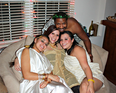 20081231 New Year's Eve Toga Party