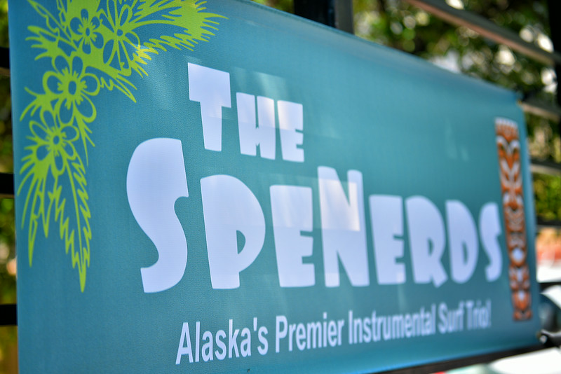 July 2, 2014: Anchorage Downtown Partnership presents Music in the Park featuring The Spenerds.