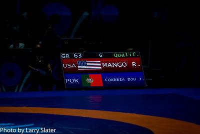 63 kg /138.75 lbs. - Ryan Mango, Colorado Springs, Colo. (U.S. Army WCAP)