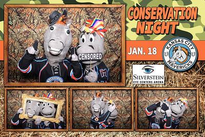 "Kansas City Mavericks ""Conservation Night"""