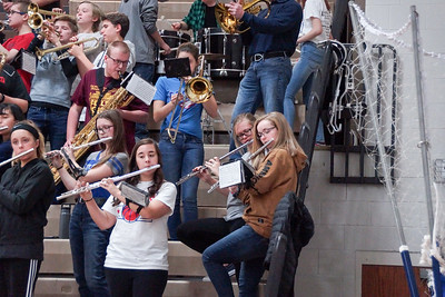 LB Pep Band @ Home BBK Game (2018-12-28)