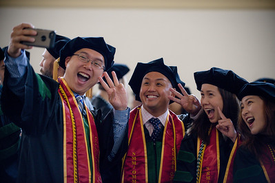 Commencement 2018: Graduate College of Biomedical Sciences and the College of Osteopathic Medicine of the Pacific