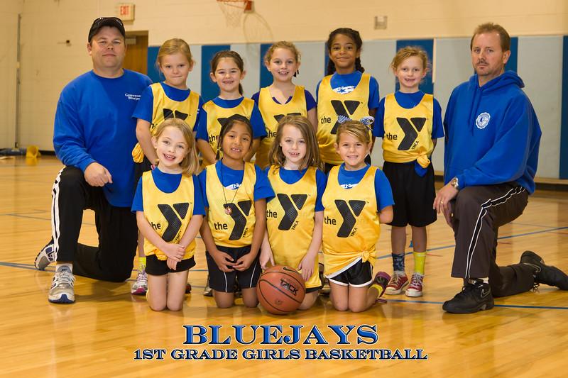 Greenwood Bluejays 1st grade BBall 2011