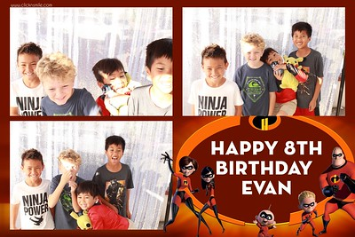 Evan's 8th Birthday