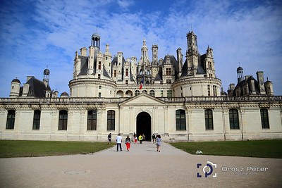 Chambord, Chenonceau, Amiens, Chaville, 4. nap, 2015.08.17.