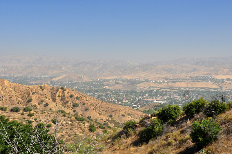 After two nights in Simi Valley visiting friends, I took off for San Diego.  This view of Simi is from Black Canyon road.