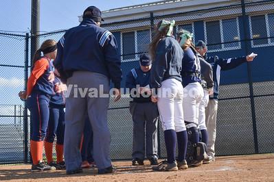 Softball: Briar Woods at Woodgrove (4-23-2014 by Jeff Vennitti)