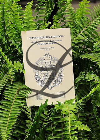 WHS Receiving Diplomas 2014