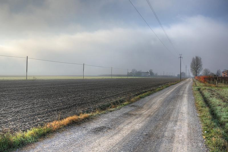 Dirt Road - Nonantola, Modena, Italy - November 17, 2011