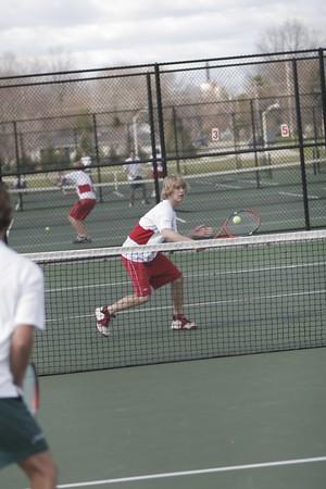 Boys Varsity Tennis- 2006-2007 - 4/19/2007 Coopersville