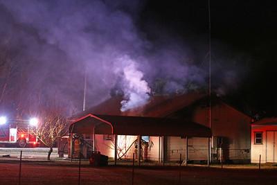 Farmersville TX. Residential structure fire. CR 655. 12/2/18